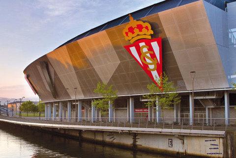 Sierra y Duran - Procoin, Estadio El Molinón - Gijón - Sierra y Durán Pavimentos
